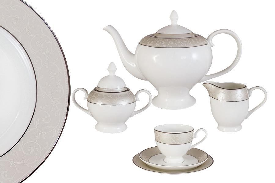 "Чайный сервиз 21 предмет на 6 персон ""Антуанетта"". E5-14-603/21-AL"