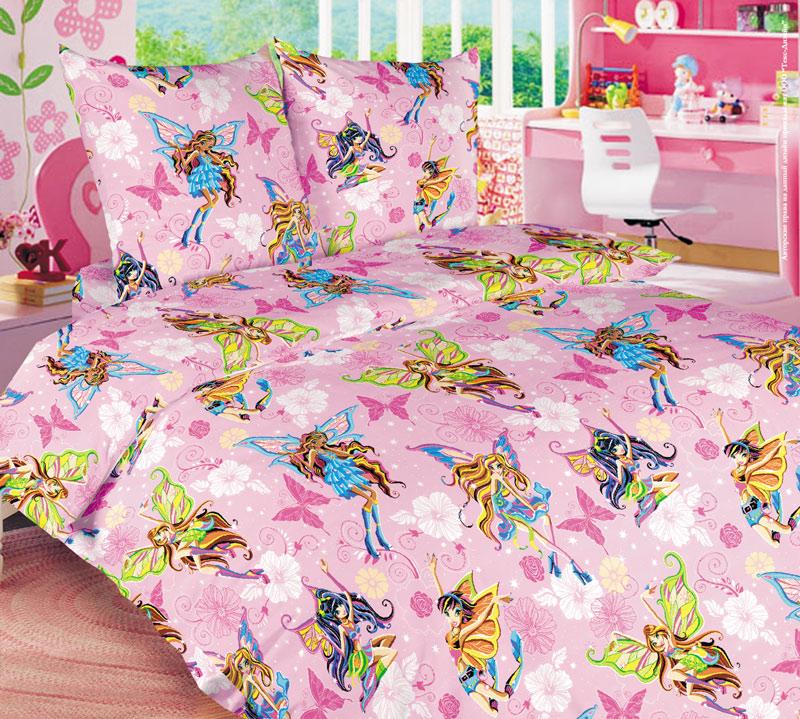 ТексДизайн Комплект детского постельного белья Волшебницы 1,5-спальный