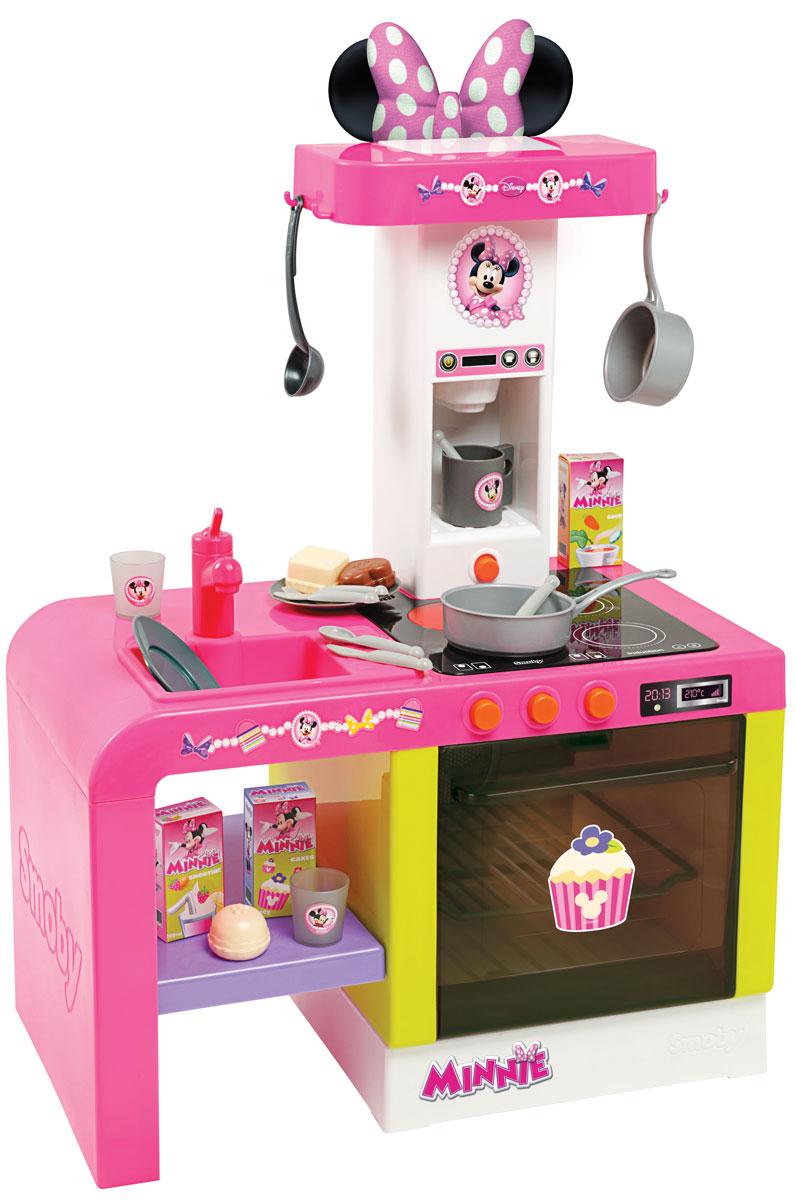 Smoby Игровой набор Кухня Cheftronic Minnie