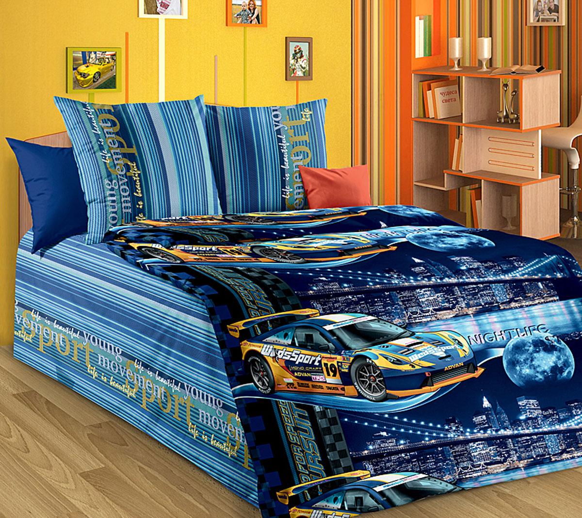 ТексДизайн Комплект детского постельного белья Неон 1,5-спальный