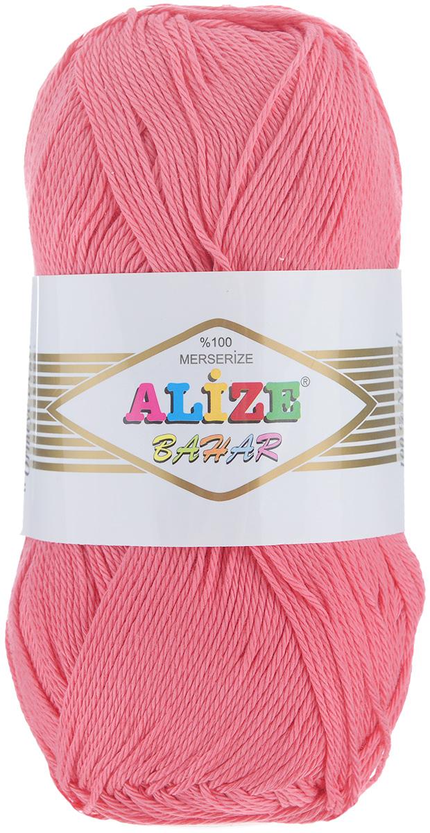 Пряжа для вязания Alize Bahar, цвет: коралловый (38), 260 м, 100 г, 5 шт364089_38Пряжа Alize Bahar подходит для ручного вязания детям и взрослым. Пряжа однотонная, приятная на ощупь, хорошо лежит в полотне. Изготовлена из специально обработанного хлопка. Мерсеризация придает нити особый блеск. Пряжа Bahar отлично подходит для работы и крючком, и спицами, послушно ложится в узоры любой сложности, предназначена для вывязывания летних легких вещей. В силу натуральности и экологической чистоты эта пряжа подходит и для детских вещей. Изделия из такой нити получаются мягкие и красивые. Рекомендуемый размер спиц: №3-5. Рекомендуемый размер крючка: №2-4. Состав: 100% мерсеризованный хлопок.