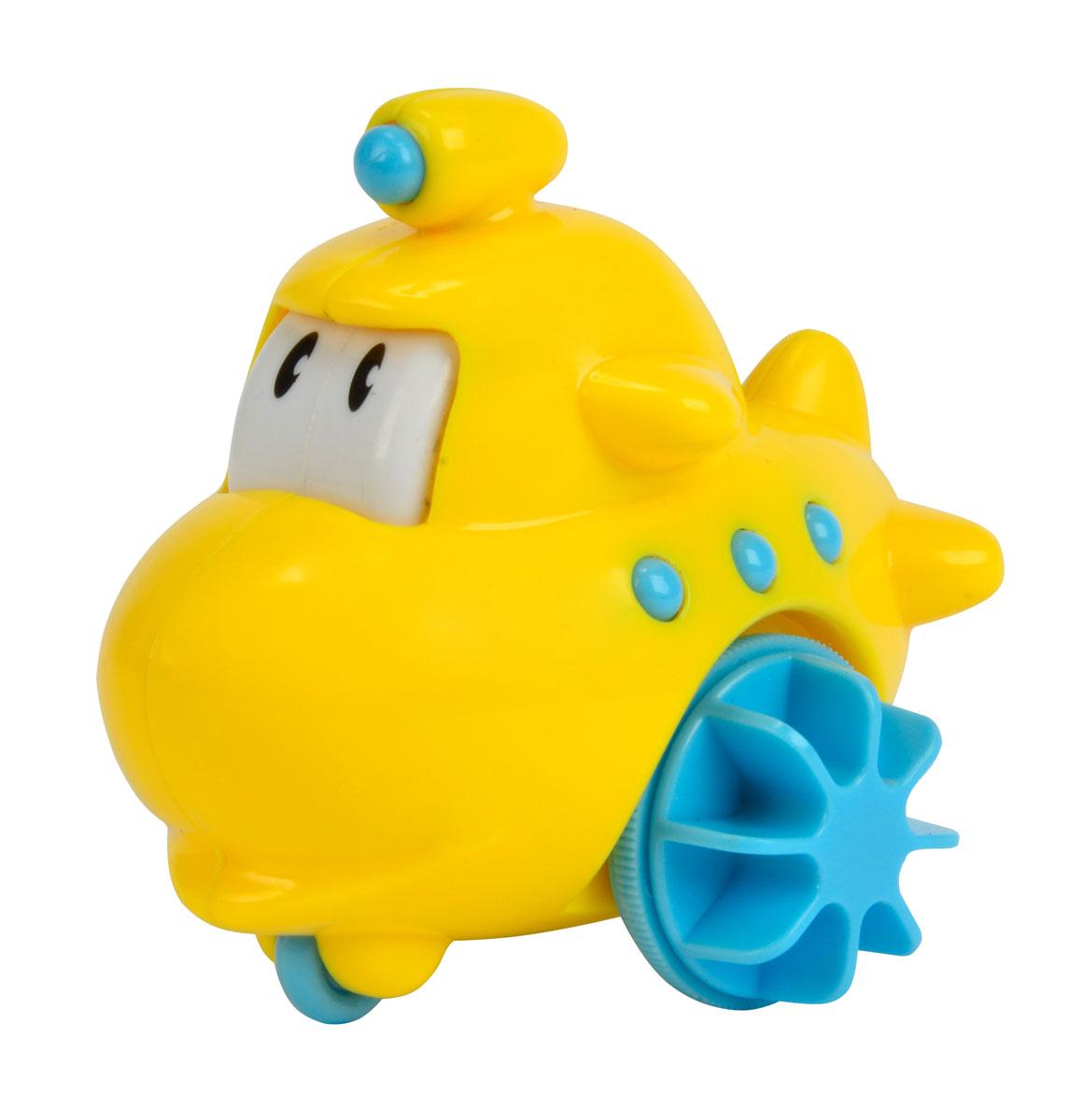 Simba Игрушка д/ванной Лодочка4011643_желтыйИгрушка для ванной «Лодочка» с забавным и милым дизайном, превратит обычное купание малыша в увлекательную игру. Игрушка оснащена специальным механизмом, благодаря которому она без труда плывёт по воде. Во время плавания огромные глазки игрушки приходят в движение, что несомненно приведёт малыша в восторг от игры с «Лодочкой». Возраст: от 1 годика.