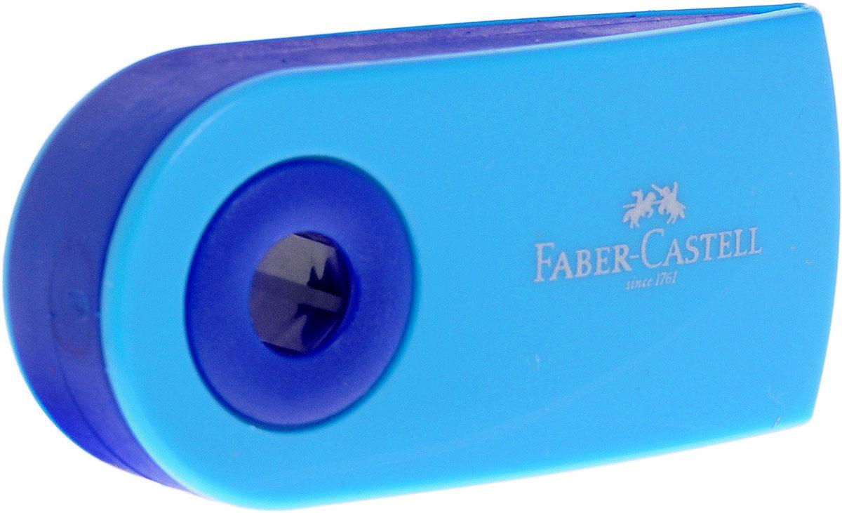 Faber-Castell Ластик Sleeve цвет голубой263396_голубойЛастик Sleeve Faber-Castell станет незаменимым аксессуаром на рабочем столе не только школьника или студента, но и офисного работника. Не оставляет грязных разводов. Кроме того высококачественный ластик не содержит ПВХ. Не повреждает бумагу даже при многократном стирании. Специальный удобный пластиковый футляр позволит защитить ластик от повреждений.