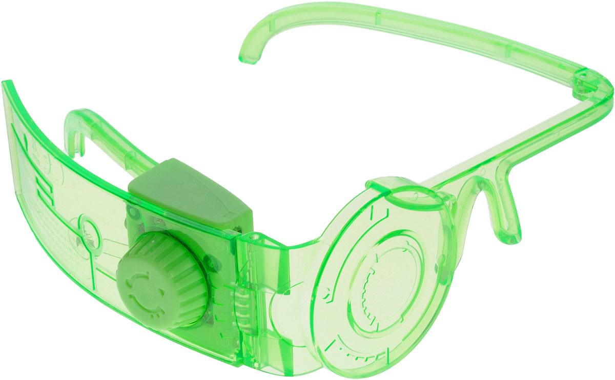 Miles from Tomorrowland Игрушка Спектральные очки86303Спектральные космические очки, которые носят герои мультика Майлз с другой планеты, совершенно необходимы при путешествиях к далеким звездам! Они дают владельцу информацию об окружающем мире, энергетических уровнях и других важных вещах. Спектроочки могут менять цвет - сбоку расположен переключатель. Всего возможно 3 разных подсветки - зеленая, голубая и красная. При этом, меняются и оптические эффекты. Очки отлично подойдут детям, они надежно закрепляются и выполнены из высококачественных материалов. Это отличный подарок для всех поклонников мультфильма! Дети смогут играть в астронавтов, пользуясь настоящими супер очками! Для работы требуются 3 батарейки типа LR44 (комплектуется демонстрационными).