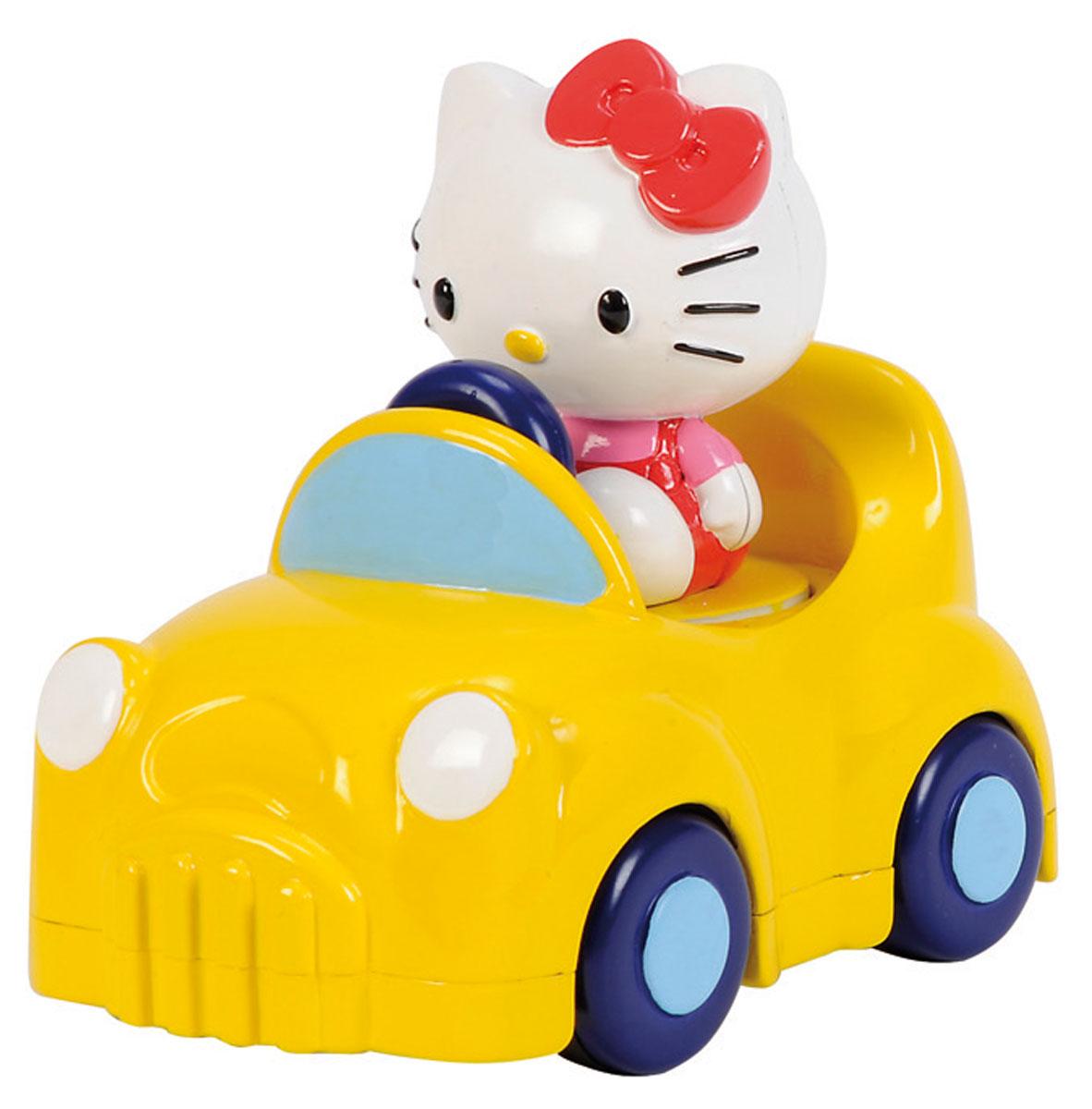 Simba Машинка Hello Kitty4014855Машинка Hello Kitty привлечет внимание вашего ребенка и надолго останется его любимой игрушкой. Плавные формы без острых углов, яркие цвета - все это выгодно выделяет эту игрушку из ряда подобных. Игрушка оснащена инерционным ходом. Если нажать на Китти, вдавив ее внутрь, а затем отпустить - машинка быстро поедет вперед. Машинка развивает концентрацию внимания, координацию движений, мелкую моторику рук, цветовое восприятие и воображение. Малышка будет часами играть с этой машинкой, придумывая разные истории.
