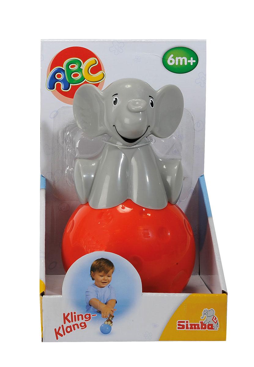 Simba Неваляшка Слоник4015666Неваляшка Simba Слоник привлечет внимание вашего малыша и не позволит ему скучать. Игрушка выполнена из пластика в виде забавного слоненка, сидящего на красном шаре. Неваляшка всегда возвращается в вертикальное положение, забавно покачиваясь под приятный звук бубенчиков и развлекая малыша. Неваляшка развивает мелкую моторику, координацию, слух и цветовое восприятие.