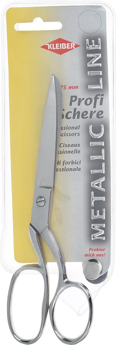 Ножницы для шитья Kleiber Metallic line, длина 17,5 см921-44Ножницы Kleiber Metallic line изготовлены из закаленной нержавеющей стали. Эргономичные ручки обеспечивают комфорт даже при длительной работе. Такие ножницы идеально подойдут для шитья и других работ с тканью. Длина ножниц: 17,5 см. Длина лезвий: 7 см.