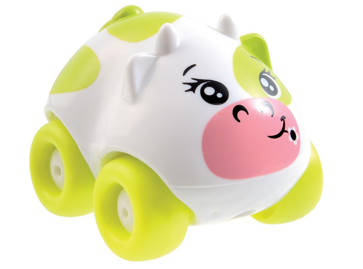 Smoby Машинка Animal Planet Корова цвет салатовый211349_салатовыйМашинка Smoby Animal Planet. Корова привлечет внимание вашего ребенка и не позволит ему скучать. Машинка оформлена очаровательной мордочкой коровы, а также дополнена двумя ушками, двумя рожками и маленьким хвостиком. Колесики машинки вращаются. Игрушка выполнена из прочного пластика и не имеет острых граней, что делает ее безопасной для игры. Игры с такой машинкой развивают концентрацию внимания, координацию движений, мелкую и крупную моторику, цветовое восприятие и воображение. Малыш будет с удовольствием играть с машинкой-зверюшкой, придумывая разные истории. Порадуйте своего ребенка таким замечательным подарком!