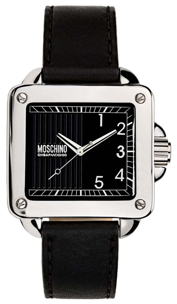 Наручные часы женские Moschino Unit Square Lady, цвет: черный. MW0272MW0272Часы наручные Moschino MW0272