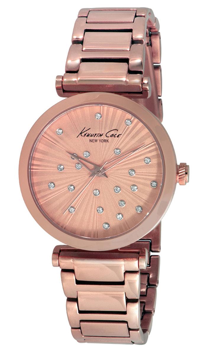 Наручные часы женские Kenneth Cole Classic, цвет: золотой. IKC0019IKC0019Часы наручные Kenneth Cole IKC0019