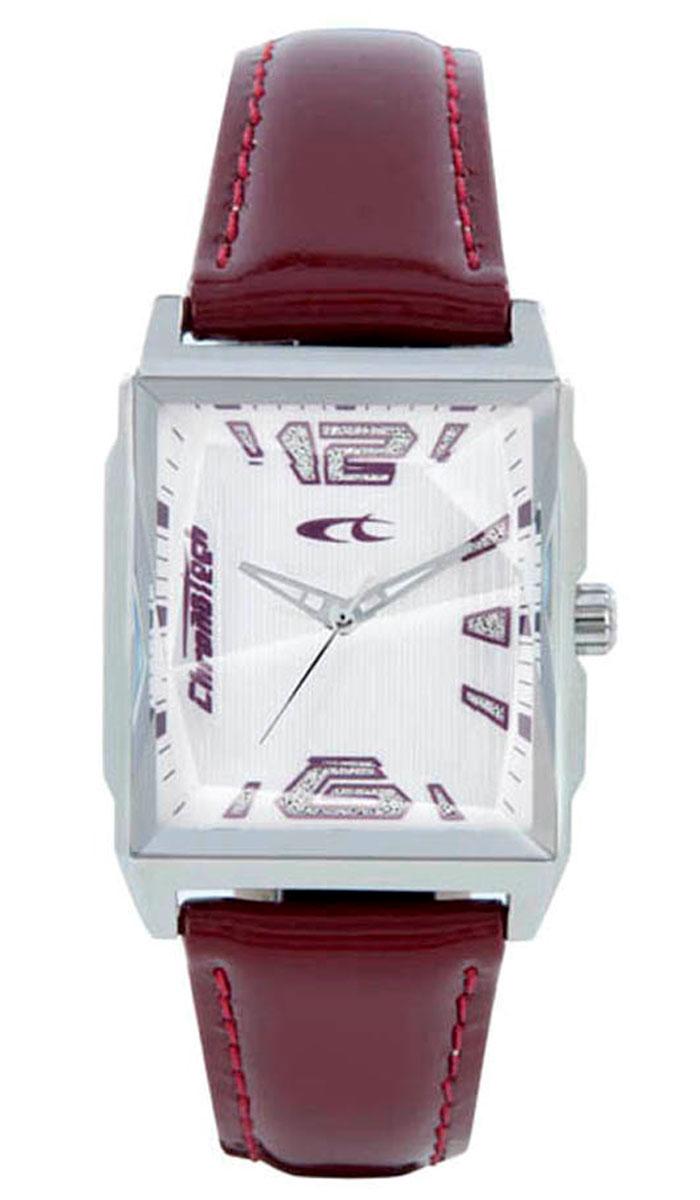 Наручные часы женские Chronotech Uptown, цвет: бордовый. RW0058RW0058Часы наручные CHRONOTECH RW0058