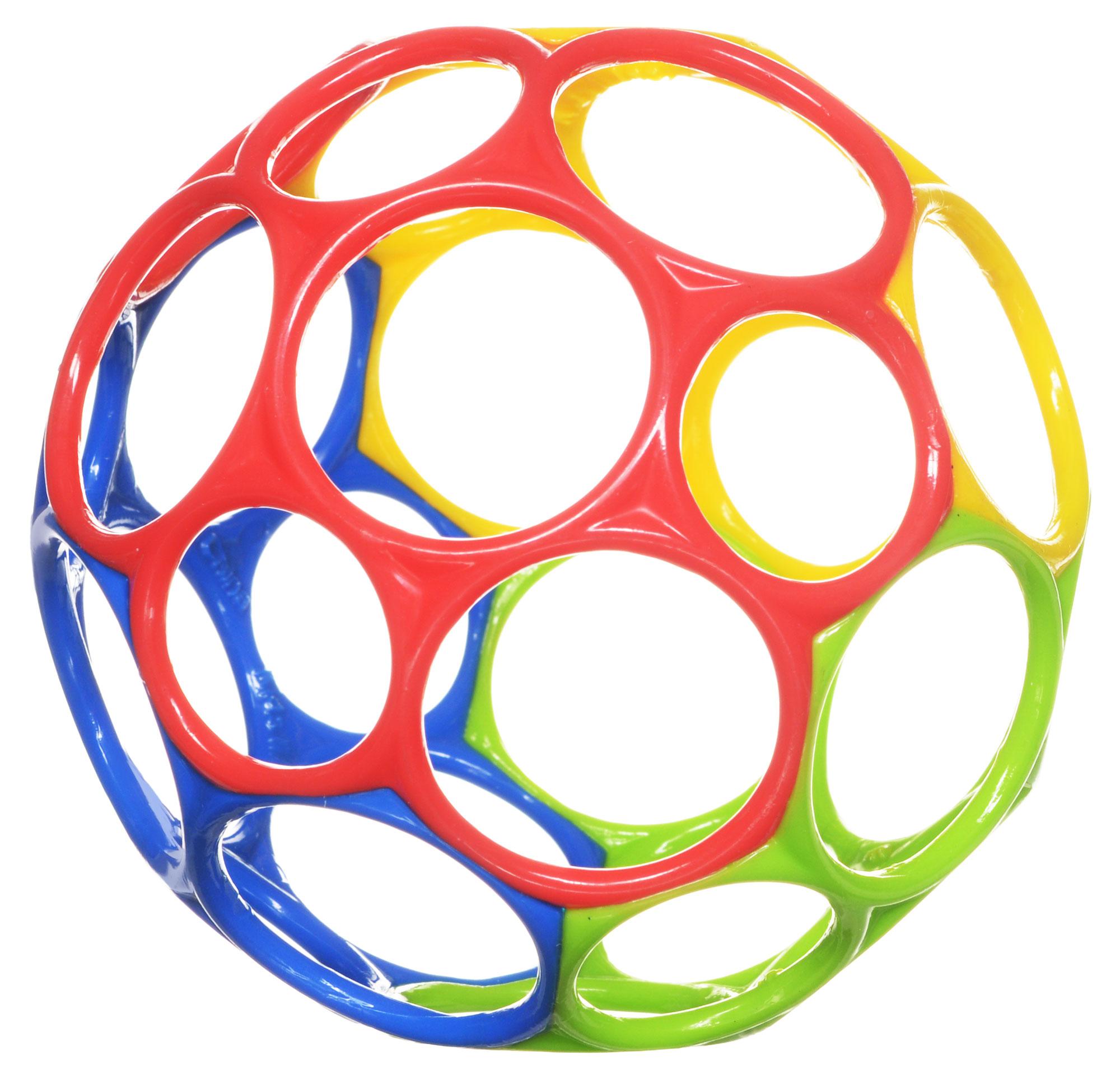 Oball Развивающая игрушка Мячик цвет красный синий