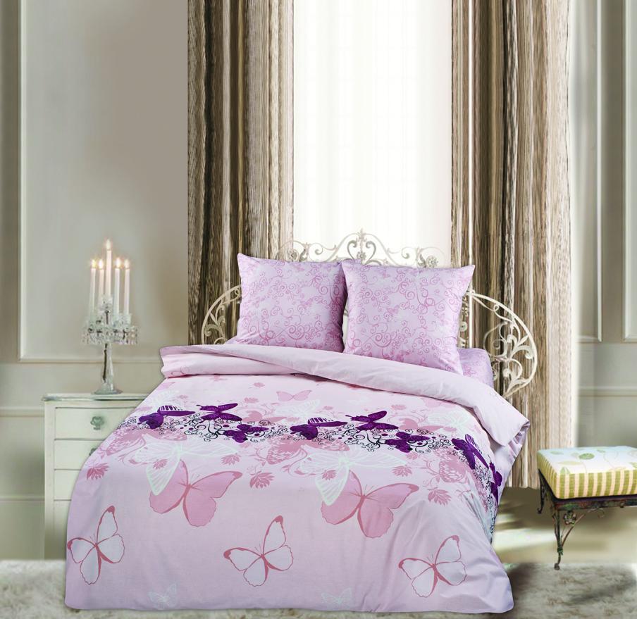 КПБ Евро Lux Cotton Romantic КБR-41/1 рис. 10433/10434 вид 1 Баттерфляй209397