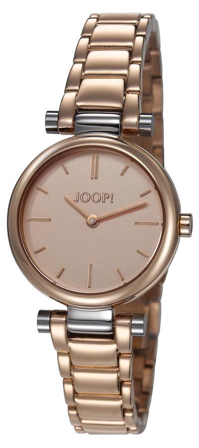 Наручные часы женские JOOP! Martha, цвет: золотой, серебристый. JP101542004JP101542004Часы наручные Joop! JP101542004