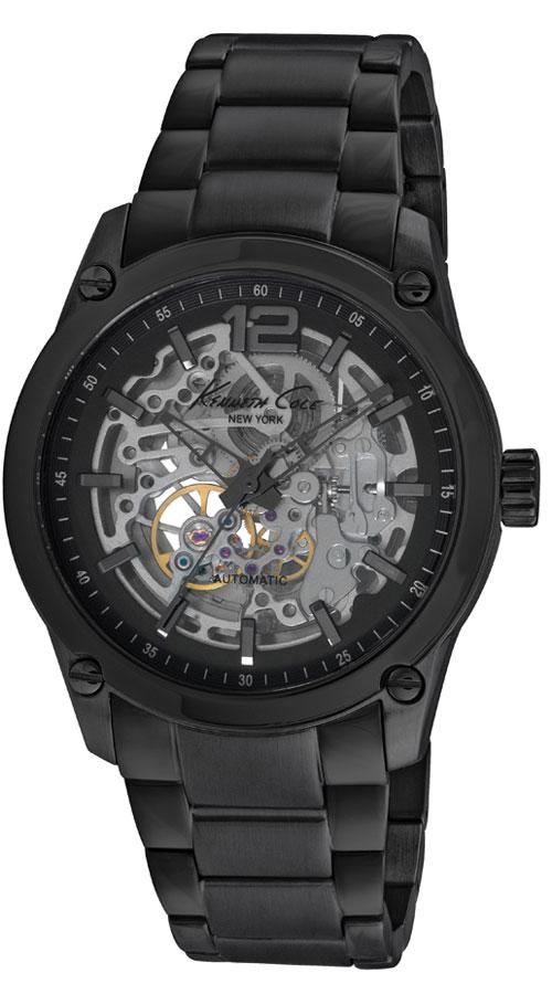Наручные часы мужские Kenneth Cole Automatics, цвет: черный. IKC9381IKC9381Часы наручные Kenneth Cole IKC9381