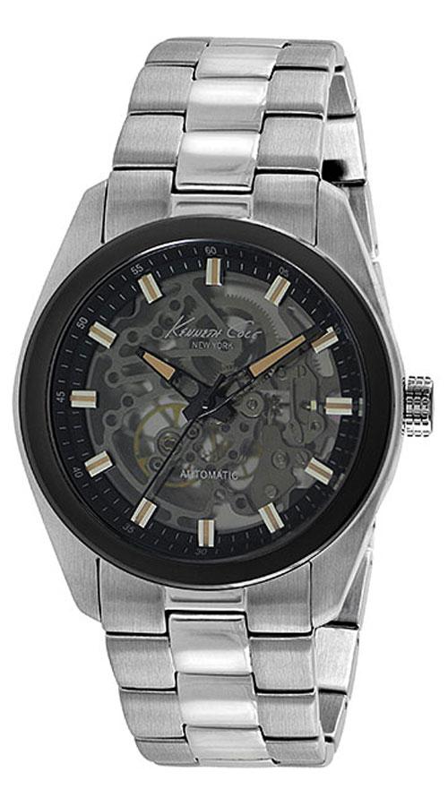 Наручные часы мужские Kenneth Cole Automatics, цвет: серебристый. IKC9334IKC9334Часы наручные Kenneth Cole IKC9334