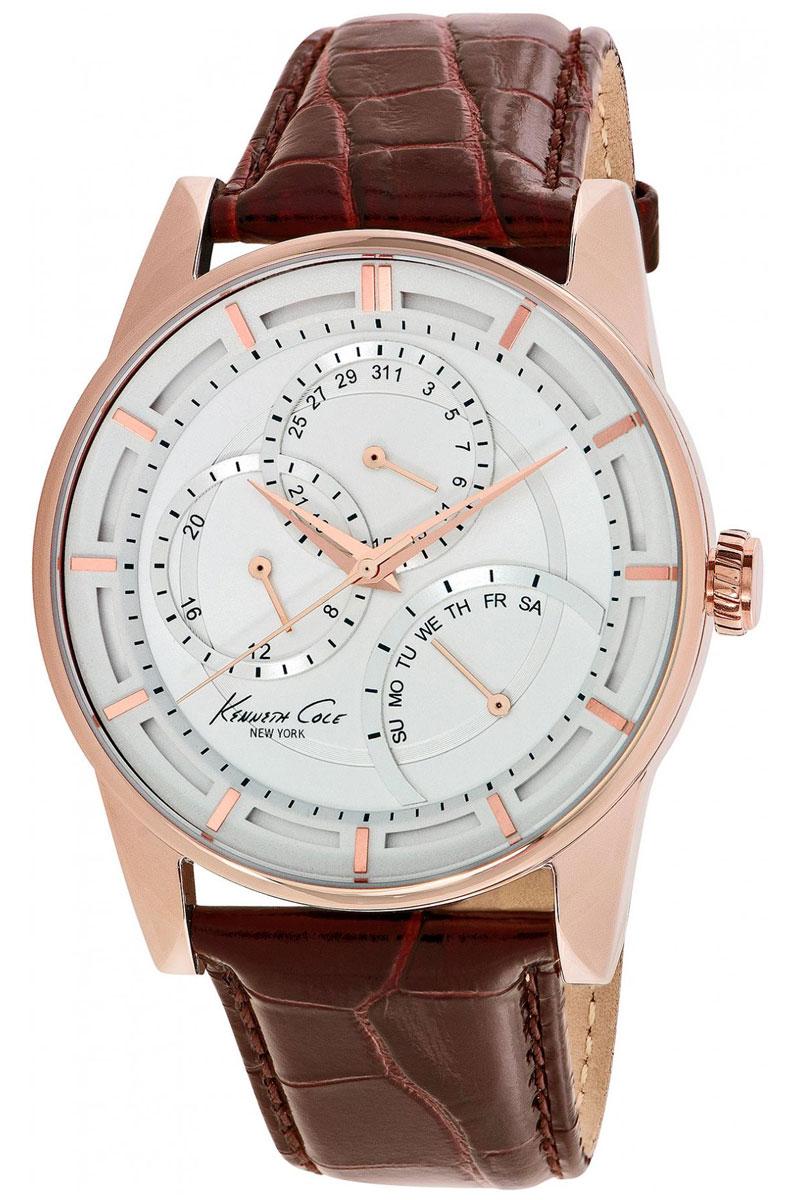 Наручные часы мужские Kenneth Cole Dress Sport, цвет: серебристый. IKC9304IKC9304Часы наручные Kenneth Cole IKC9304