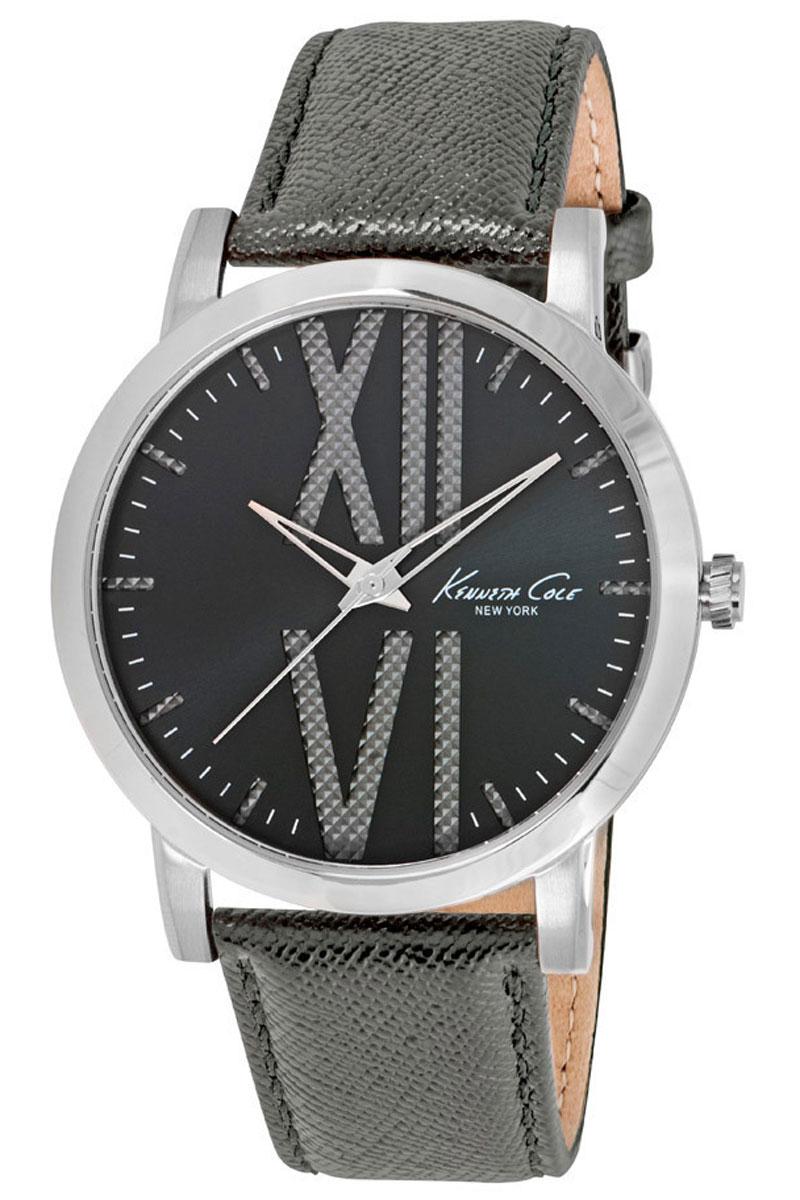 Наручные часы мужские Kenneth Cole Classic, цвет: черный. 1001481610014816Часы наручные Kenneth Cole 10014816