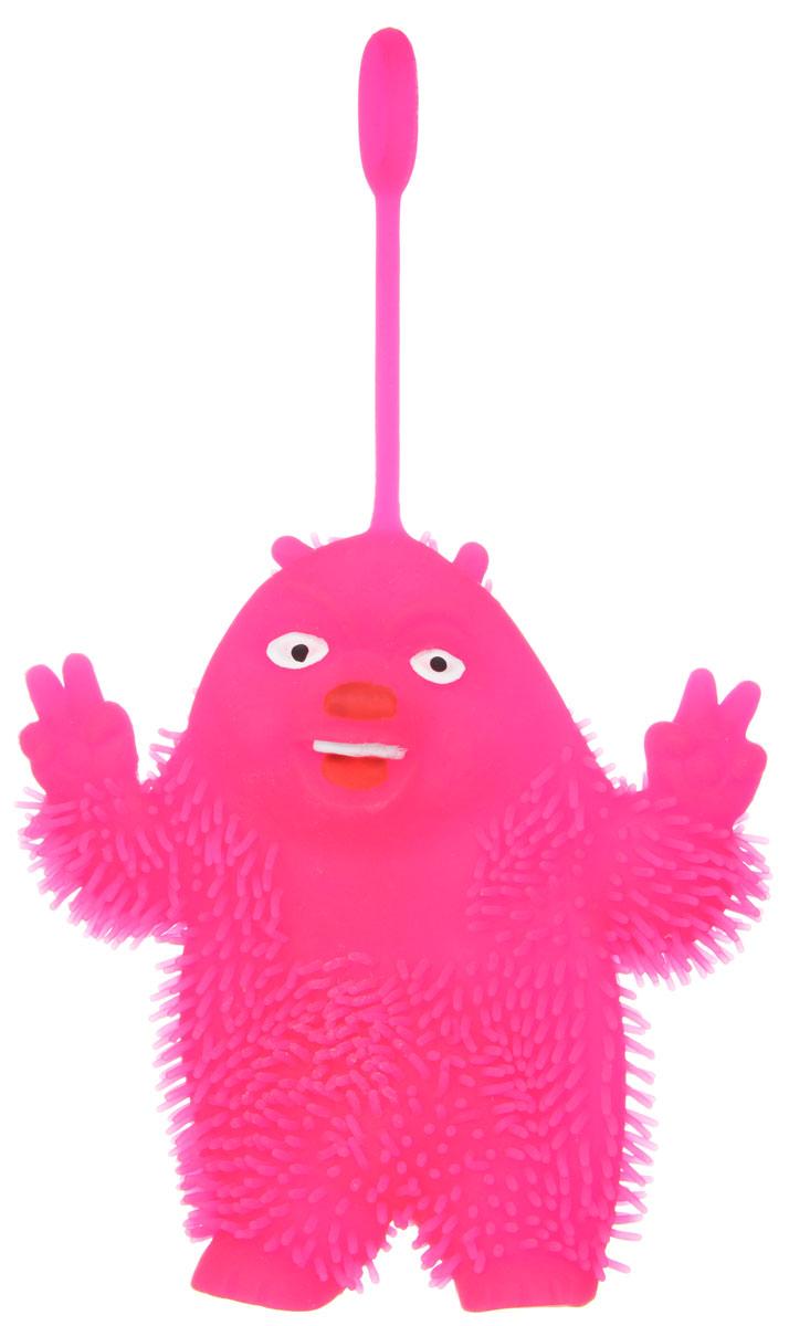 1TOY Игрушка-антистресс Ё-Ёжик Медвежонок-хиппи цвет розовыйТ58186Ё-Ёжик - это яркая игрушка-антистресс - мягкая, приятная на ощупь и напоминающая свернувшегося ёжика. Взяв игрушку в руки, расстаться с ней просто невозможно! Её не только приятно держать в руках, если перекинуть игрушку из руки в руку, она начнёт мигать цветными огоньками. Игрушка розового цвета в виде забавного медведя с петлей-тянучкой и короткими мягкими колючками. Данная игрушка рассчитана на широкую целевую аудиторию, как детей от трёх лет, так и взрослых. Ё-Ёжик обязательно станет самым любимым забавным сувениром.