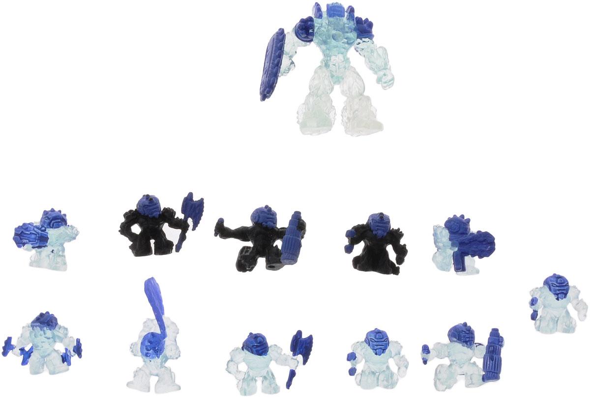 Atomicron Игровой набор Nitrogen Atom1170435_General SUB ZERO_чёрный/прозрачный/синийИгровой набор Atomicron Nitrogen Atom включает 12 пластиковых фигурок. 8 прозрачно-голубых фигурок представляют собой армию Азота, которой командует генерал Саб Зиро, а 3 черных фигурки - Антиазотный отряд. В набор также входит дропшутер - уникальное оружие, которое может стрелять солдатами-микронами. В Atomicron персонажи представлены классами химических элементов и их противоположностей. Таким образом, дети знакомятся с миром химии посредством увлекательной игры! Соберите все армии союзов Материи и их грозных противников - Антиматерии, чтобы устроить эпичное миниатюрное сражение за мир и порядок во Вселенной!
