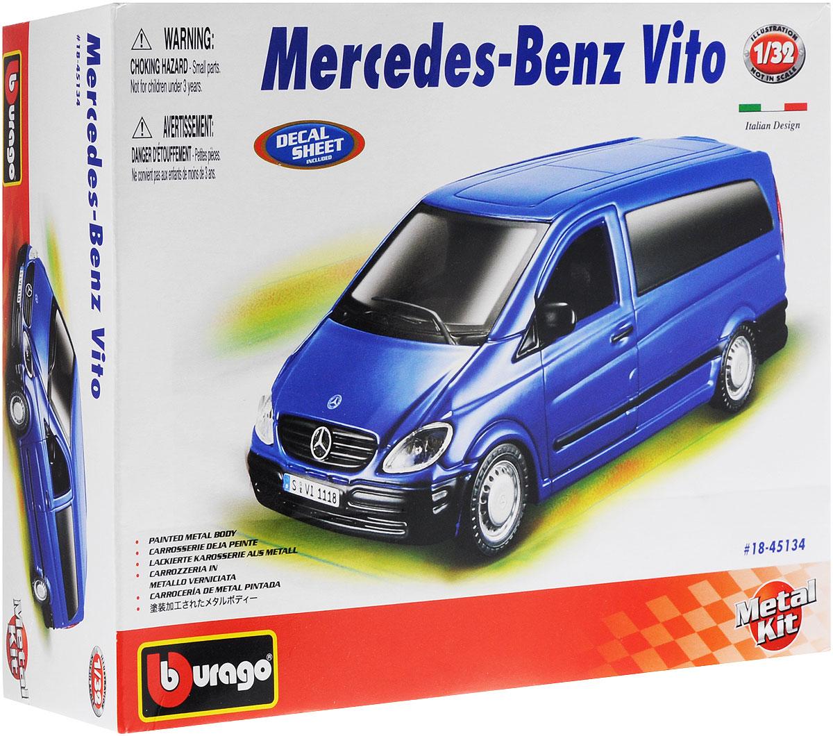 Bburago Сборная модель автомобиля Mercedes-Benz Vito