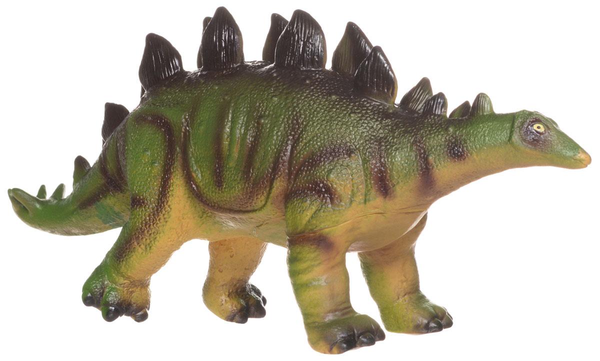 HGL Фигурка СтегозаврSV3446_стегозаврРезиновая фигурка Стегозавр выглядит как самый настоящий доисторический ящер! У него маленькая голова, длинный хвост и два ряда грозных отростков на спине. Фигурка изготовлена из высококачественных нетоксичных материалов, абсолютно безопасных для малышей. Тема эпохи динозавров никогда не останется в прошлом! Каждый ребенок, так или иначе, интересовался этим доисторическим миром и мечтал о своем собственном динозавре. Удивительные фигурки динозавров HGL с высокой детализацией и тщательной проработкой элементов не оставят равнодушным ни одного ребенка. Ваш ребенок часами будет играть с такой игрушкой, придумывая различные истории.