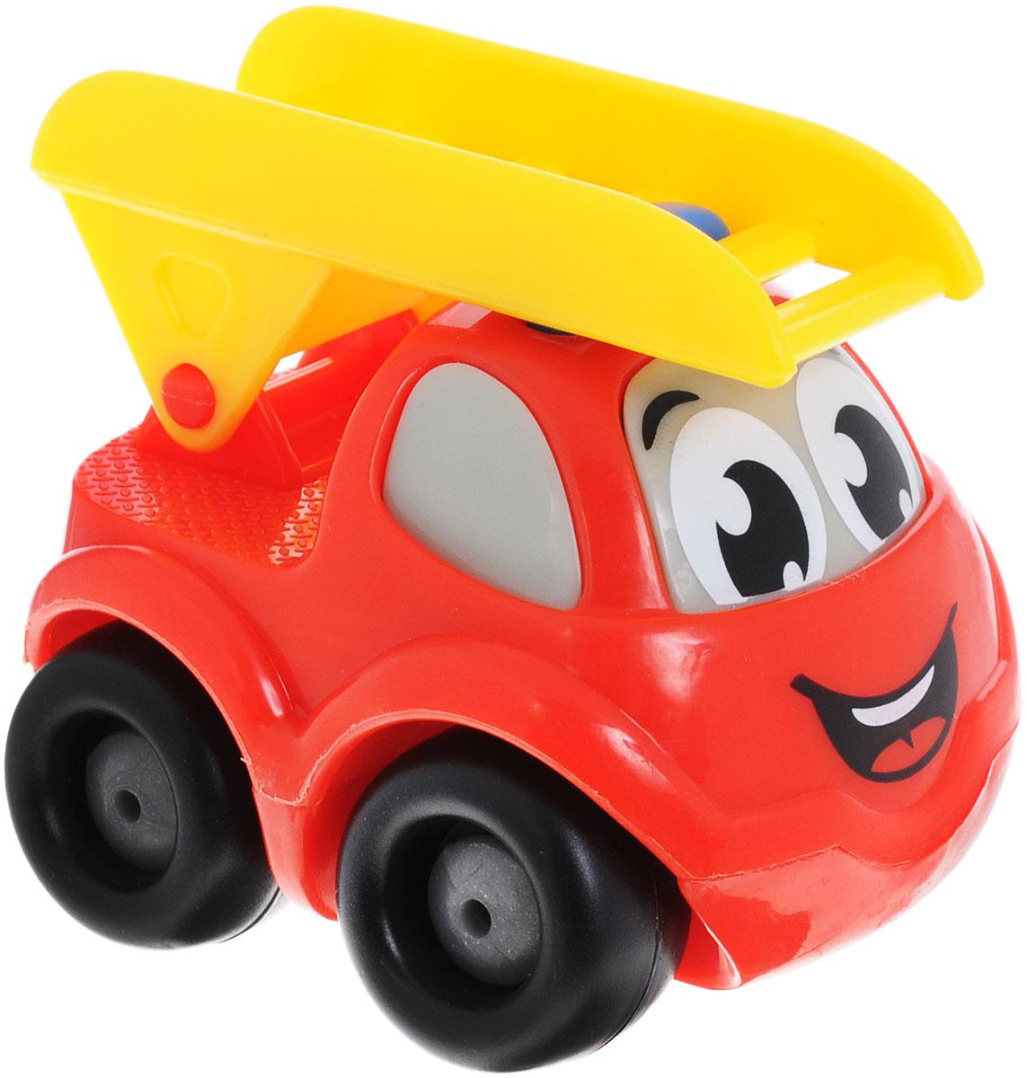 Smoby Машинка Vroom Planet цвет красный желтый211257_красный, желтыйМашинка Smoby Vroom Planet непременно привлечет внимание малыша. Игрушка выполнена из абсолютно безопасного для малыша высококачественного пластика. Машинка выполнена в виде пожарной машины. Игра с машинкой помогает развивать мелкую моторику, цветовосприятие, координацию движений, а также являются хорошим средством для развлечения ребенка. Порадуйте своего малыша таким замечательным подарком.