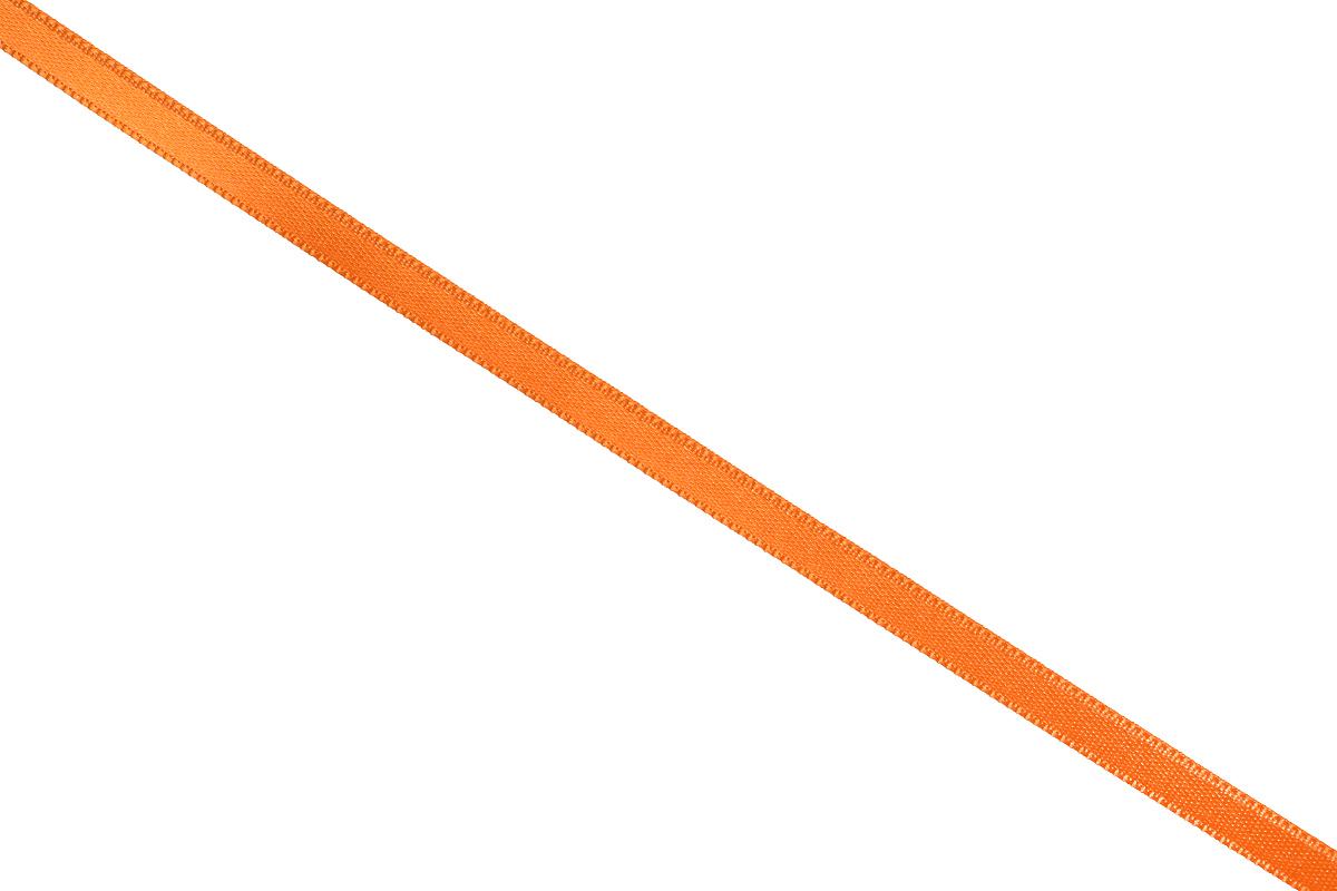 Лента атласная Prym, цвет: оранжевый, ширина 6 мм, длина 25 м697070_30Атласная лента Prym изготовлена из 100% полиэстера. Область применения атласной ленты весьма широка. Изделие предназначено для оформления цветочных букетов, подарочных коробок, пакетов. Кроме того, она с успехом применяется для художественного оформления витрин, праздничного оформления помещений, изготовления искусственных цветов. Ее также можно использовать для творчества в различных техниках, таких как скрапбукинг, оформление аппликаций, для украшения фотоальбомов, подарков, конвертов, фоторамок, открыток и многого другого. Ширина ленты: 6 мм. Длина ленты: 25 м.