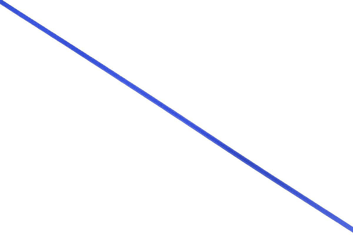 Лента атласная Prym, цвет: ярко-синий, ширина 3 мм, длина 50 м697069_55Атласная лента Prym изготовлена из 100% полиэстера. Область применения атласной ленты весьма широка. Изделие предназначено для оформления цветочных букетов, подарочных коробок, пакетов. Кроме того, она с успехом применяется для художественного оформления витрин, праздничного оформления помещений, изготовления искусственных цветов. Ее также можно использовать для творчества в различных техниках, таких как скрапбукинг, оформление аппликаций, для украшения фотоальбомов, подарков, конвертов, фоторамок, открыток и многого другого. Ширина ленты: 3 мм. Длина ленты: 50 м.