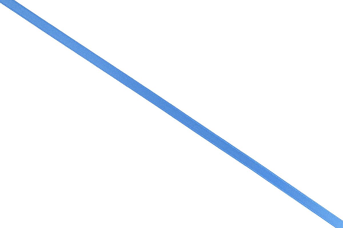 Лента атласная Prym, цвет: голубой, ширина 6 мм, длина 25 м697070_59Атласная лента Prym изготовлена из 100% полиэстера. Область применения атласной ленты весьма широка. Изделие предназначено для оформления цветочных букетов, подарочных коробок, пакетов. Кроме того, она с успехом применяется для художественного оформления витрин, праздничного оформления помещений, изготовления искусственных цветов. Ее также можно использовать для творчества в различных техниках, таких как скрапбукинг, оформление аппликаций, для украшения фотоальбомов, подарков, конвертов, фоторамок, открыток и многого другого. Ширина ленты: 6 мм. Длина ленты: 25 м.