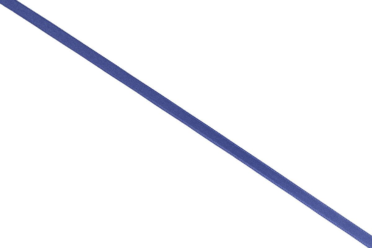 Лента атласная Prym, цвет: синий, ширина 6 мм, длина 25 м697070_54Атласная лента Prym изготовлена из 100% полиэстера. Область применения атласной ленты весьма широка. Изделие предназначено для оформления цветочных букетов, подарочных коробок, пакетов. Кроме того, она с успехом применяется для художественного оформления витрин, праздничного оформления помещений, изготовления искусственных цветов. Ее также можно использовать для творчества в различных техниках, таких как скрапбукинг, оформление аппликаций, для украшения фотоальбомов, подарков, конвертов, фоторамок, открыток и многого другого. Ширина ленты: 6 мм. Длина ленты: 25 м.