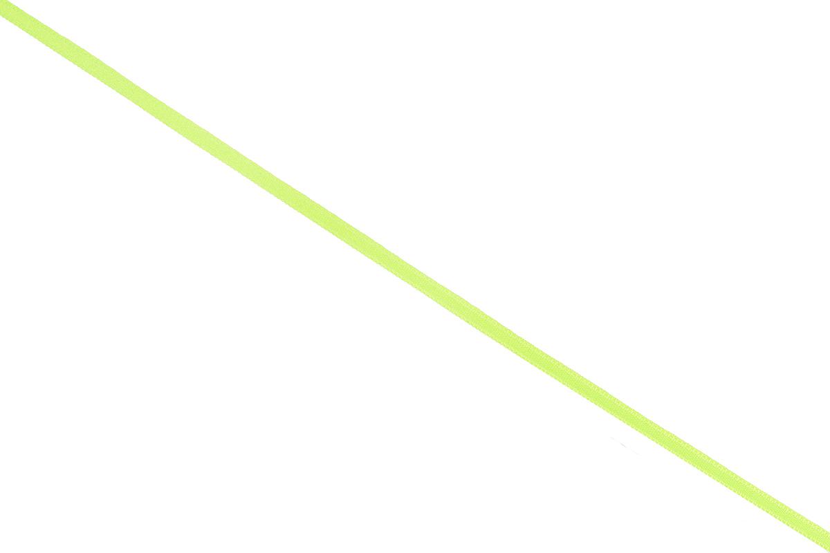 Лента атласная Prym, цвет: салатовый, ширина 3 мм, длина 50 м697068_68Атласная лента Prym изготовлена из 100% полиэстера. Область применения атласной ленты весьма широка. Изделие предназначено для оформления цветочных букетов, подарочных коробок, пакетов. Кроме того, она с успехом применяется для художественного оформления витрин, праздничного оформления помещений, изготовления искусственных цветов. Ее также можно использовать для творчества в различных техниках, таких как скрапбукинг, оформление аппликаций, для украшения фотоальбомов, подарков, конвертов, фоторамок, открыток и многого другого. Ширина ленты: 3 мм. Длина ленты: 50 м.
