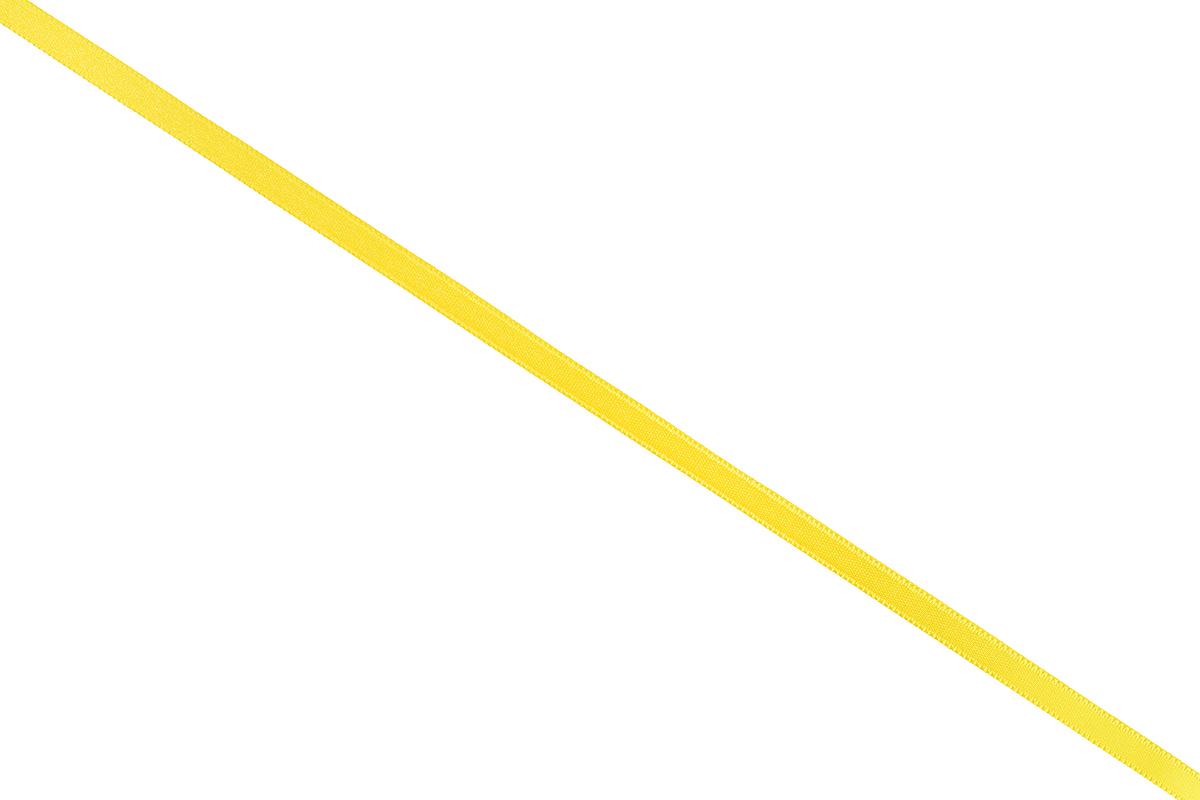 Лента атласная Prym, цвет: желтый, ширина 6 мм, длина 25 м697070_31Атласная лента Prym изготовлена из 100% полиэстера. Область применения атласной ленты весьма широка. Изделие предназначено для оформления цветочных букетов, подарочных коробок, пакетов. Кроме того, она с успехом применяется для художественного оформления витрин, праздничного оформления помещений, изготовления искусственных цветов. Ее также можно использовать для творчества в различных техниках, таких как скрапбукинг, оформление аппликаций, для украшения фотоальбомов, подарков, конвертов, фоторамок, открыток и многого другого. Ширина ленты: 6 мм. Длина ленты: 25 м.