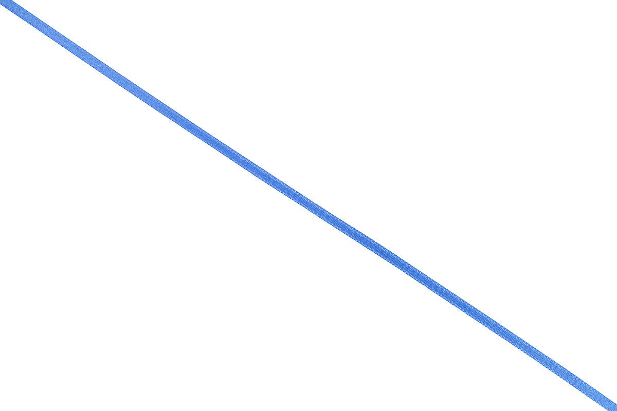 Лента атласная Prym, цвет: темно-голубой, ширина 3 мм, длина 50 м697069_59Атласная лента Prym изготовлена из 100% полиэстера. Область применения атласной ленты весьма широка. Изделие предназначено для оформления цветочных букетов, подарочных коробок, пакетов. Кроме того, она с успехом применяется для художественного оформления витрин, праздничного оформления помещений, изготовления искусственных цветов. Ее также можно использовать для творчества в различных техниках, таких как скрапбукинг, оформление аппликаций, для украшения фотоальбомов, подарков, конвертов, фоторамок, открыток и многого другого. Ширина ленты: 3 мм. Длина ленты: 50 м.