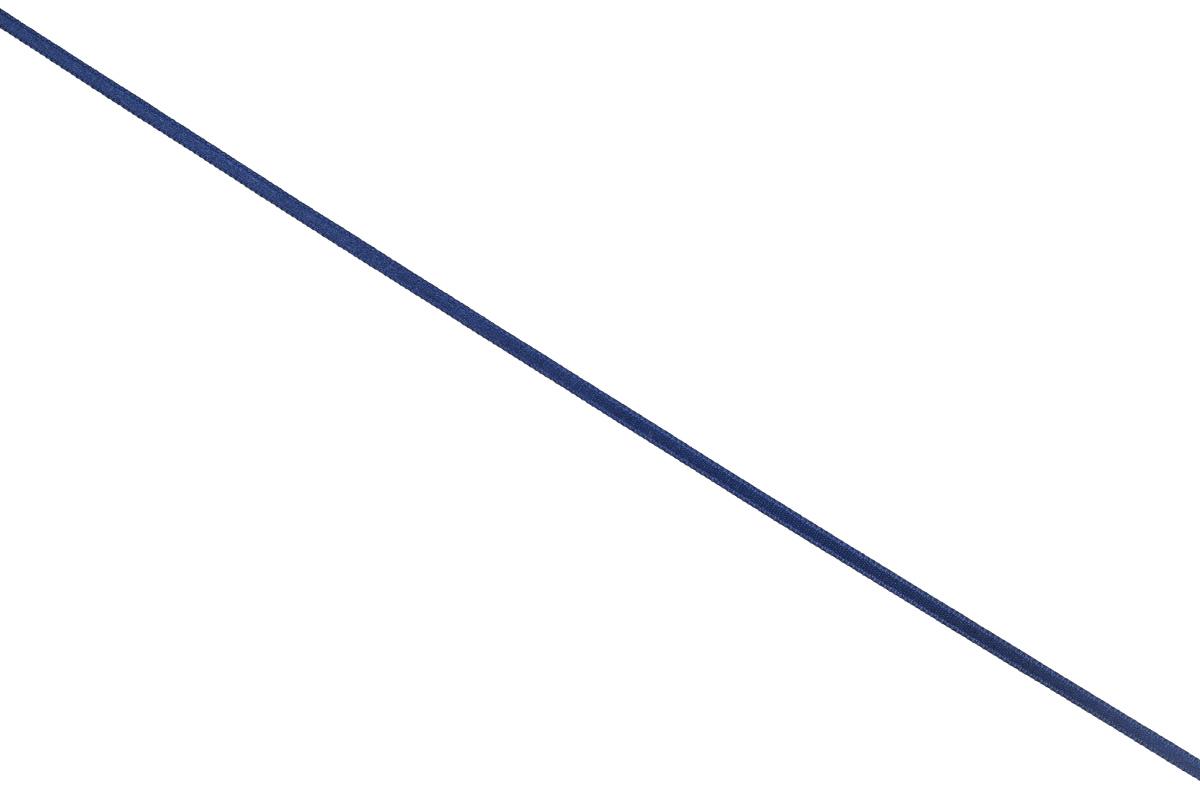 Лента атласная Prym, цвет: темно-синий, ширина 3 мм, длина 50 м697069_57Атласная лента Prym изготовлена из 100% полиэстера. Область применения атласной ленты весьма широка. Изделие предназначено для оформления цветочных букетов, подарочных коробок, пакетов. Кроме того, она с успехом применяется для художественного оформления витрин, праздничного оформления помещений, изготовления искусственных цветов. Ее также можно использовать для творчества в различных техниках, таких как скрапбукинг, оформление аппликаций, для украшения фотоальбомов, подарков, конвертов, фоторамок, открыток и многого другого. Ширина ленты: 3 мм. Длина ленты: 50 м.