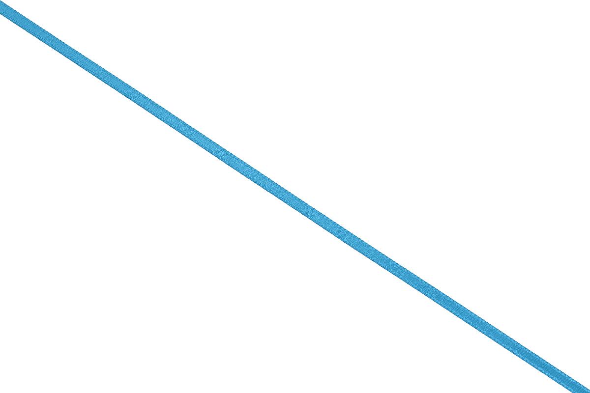Лента атласная Prym, цвет: бирюзовый, ширина 3 мм, длина 50 м697069_93Атласная лента Prym изготовлена из 100% полиэстера. Область применения атласной ленты весьма широка. Изделие предназначено для оформления цветочных букетов, подарочных коробок, пакетов. Кроме того, она с успехом применяется для художественного оформления витрин, праздничного оформления помещений, изготовления искусственных цветов. Ее также можно использовать для творчества в различных техниках, таких как скрапбукинг, оформление аппликаций, для украшения фотоальбомов, подарков, конвертов, фоторамок, открыток и многого другого. Ширина ленты: 3 мм. Длина ленты: 50 м.