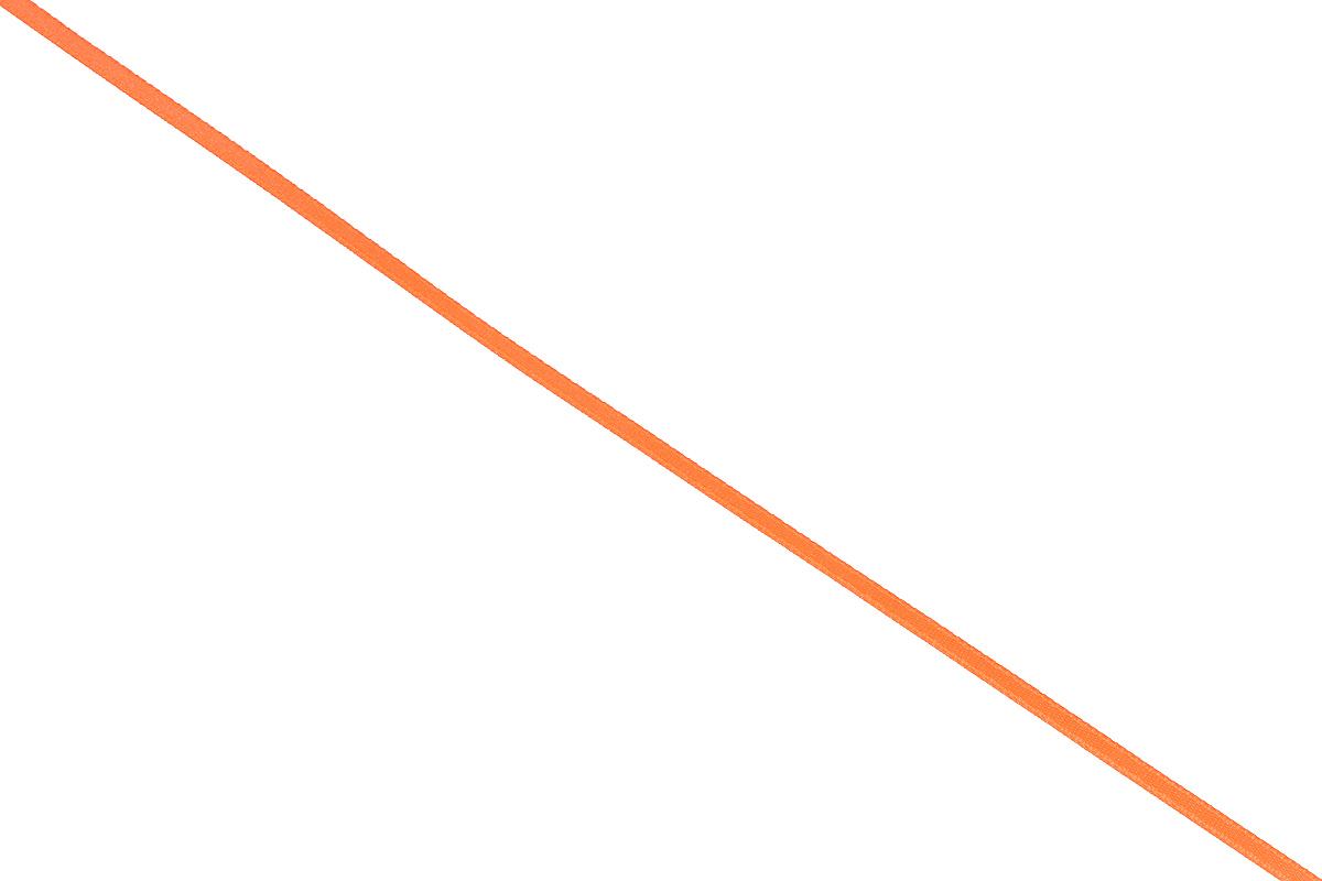 Лента атласная Prym, цвет: ярко-оранжевый, ширина 3 мм, длина 50 м697068_69Атласная лента Prym изготовлена из 100% полиэстера. Область применения атласной ленты весьма широка. Изделие предназначено для оформления цветочных букетов, подарочных коробок, пакетов. Кроме того, она с успехом применяется для художественного оформления витрин, праздничного оформления помещений, изготовления искусственных цветов. Ее также можно использовать для творчества в различных техниках, таких как скрапбукинг, оформление аппликаций, для украшения фотоальбомов, подарков, конвертов, фоторамок, открыток и многого другого. Ширина ленты: 3 мм. Длина ленты: 50 м.
