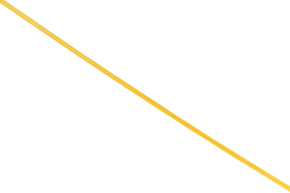 Лента атласная Prym, цвет: темно-желтый, ширина 3 мм, длина 50 м697069_32Атласная лента Prym изготовлена из 100% полиэстера. Область применения атласной ленты весьма широка. Изделие предназначено для оформления цветочных букетов, подарочных коробок, пакетов. Кроме того, она с успехом применяется для художественного оформления витрин, праздничного оформления помещений, изготовления искусственных цветов. Ее также можно использовать для творчества в различных техниках, таких как скрапбукинг, оформление аппликаций, для украшения фотоальбомов, подарков, конвертов, фоторамок, открыток и многого другого. Ширина ленты: 3 мм. Длина ленты: 50 м.