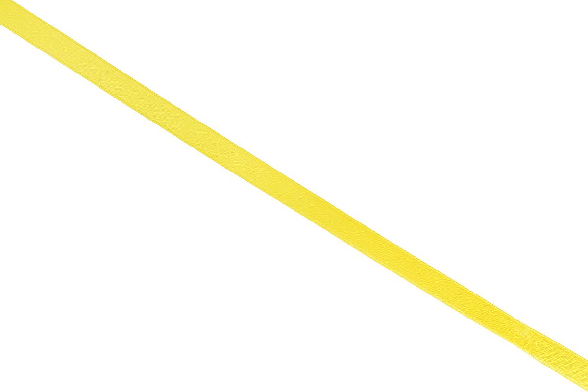 Лента атласная Prym, цвет: желтый, ширина 10 мм, длина 25 м697086_31Атласная лента Prym изготовлена из 100% полиэстера. Область применения атласной ленты весьма широка. Изделие предназначено для оформления цветочных букетов, подарочных коробок, пакетов. Кроме того, она с успехом применяется для художественного оформления витрин, праздничного оформления помещений, изготовления искусственных цветов. Ее также можно использовать для творчества в различных техниках, таких как скрапбукинг, оформление аппликаций, для украшения фотоальбомов, подарков, конвертов, фоторамок, открыток и многого другого. Ширина ленты: 10 мм. Длина ленты: 25 м.