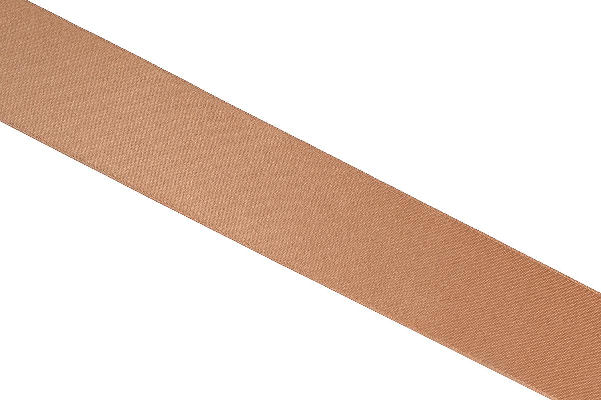 Лента атласная Prym, цвет: темно-бежевый, ширина 38 мм, длина 25 м695806_24Атласная лента Prym изготовлена из 100% полиэстера. Область применения атласной ленты весьма широка. Изделие предназначено для оформления цветочных букетов, подарочных коробок, пакетов. Кроме того, она с успехом применяется для художественного оформления витрин, праздничного оформления помещений, изготовления искусственных цветов. Ее также можно использовать для творчества в различных техниках, таких как скрапбукинг, оформление аппликаций, для украшения фотоальбомов, подарков, конвертов, фоторамок, открыток и многого другого. Ширина ленты: 38 мм. Длина ленты: 25 м.