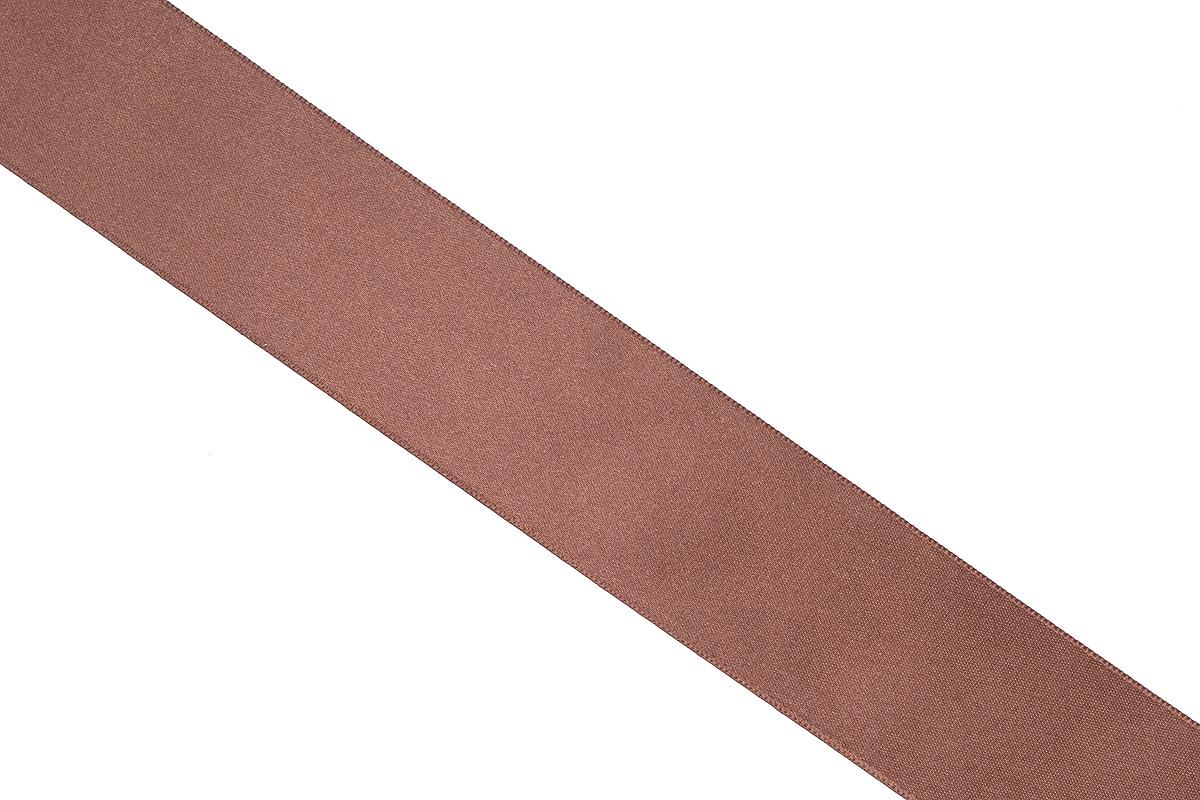 Лента атласная Prym, цвет: шоколадный, ширина 38 мм, длина 25 м695806_23Атласная лента Prym изготовлена из 100% полиэстера. Область применения атласной ленты весьма широка. Изделие предназначено для оформления цветочных букетов, подарочных коробок, пакетов. Кроме того, она с успехом применяется для художественного оформления витрин, праздничного оформления помещений, изготовления искусственных цветов. Ее также можно использовать для творчества в различных техниках, таких как скрапбукинг, оформление аппликаций, для украшения фотоальбомов, подарков, конвертов, фоторамок, открыток и многого другого. Ширина ленты: 38 мм. Длина ленты: 25 м.