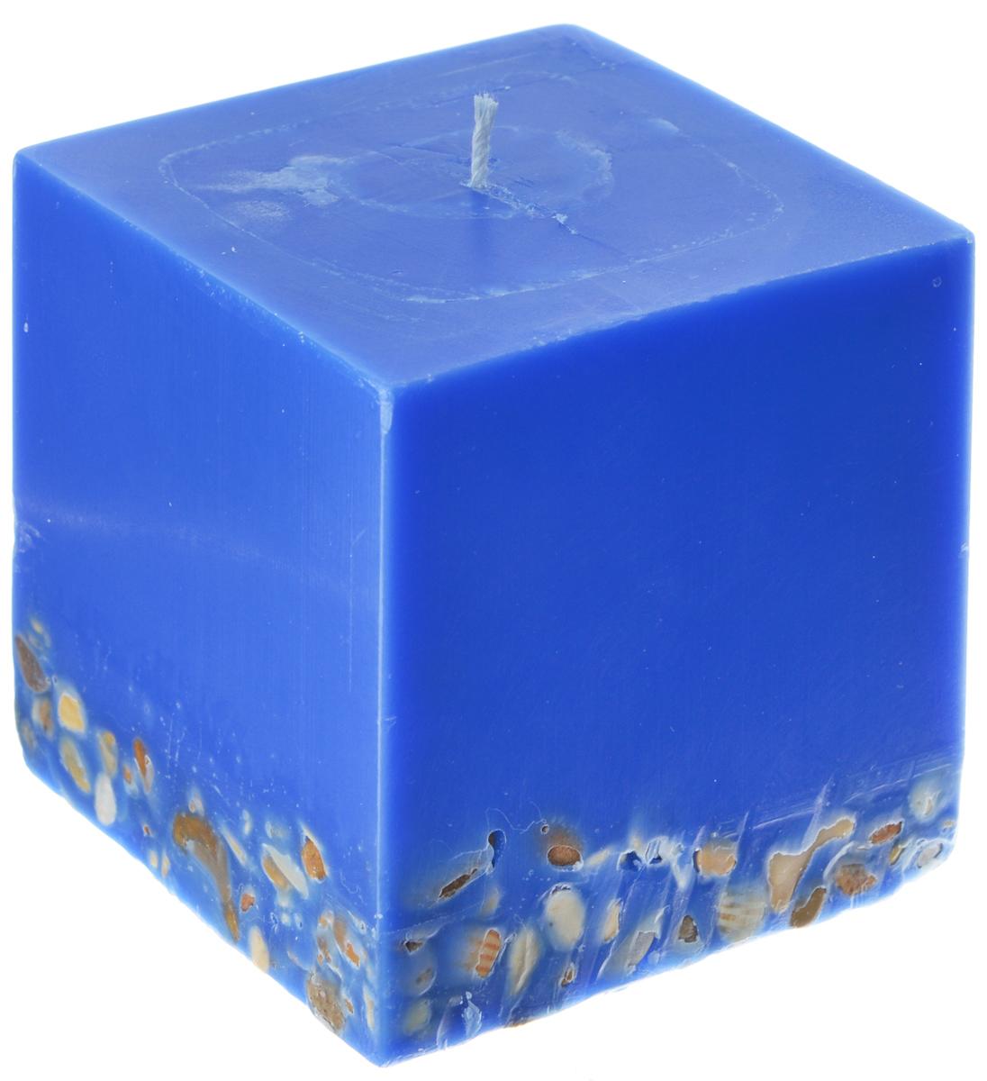 Свеча декоративная Proffi Квадрат, 9,5 х 9,5 х 9,5 смPH5911Свеча Proffi Квадрат выполнена из парафина и стеарина в классическом стиле и украшена декоративной галькой. Изделие порадует вас ярким дизайном. Такую свечу можно поставить в любое место, и она станет ярким украшением интерьера. Свеча Proffi Квадрат создаст незабываемую атмосферу, будь то торжество, романтический вечер или будничный день. Размер (по верхнему краю): 9,5 см х 9,5 см.