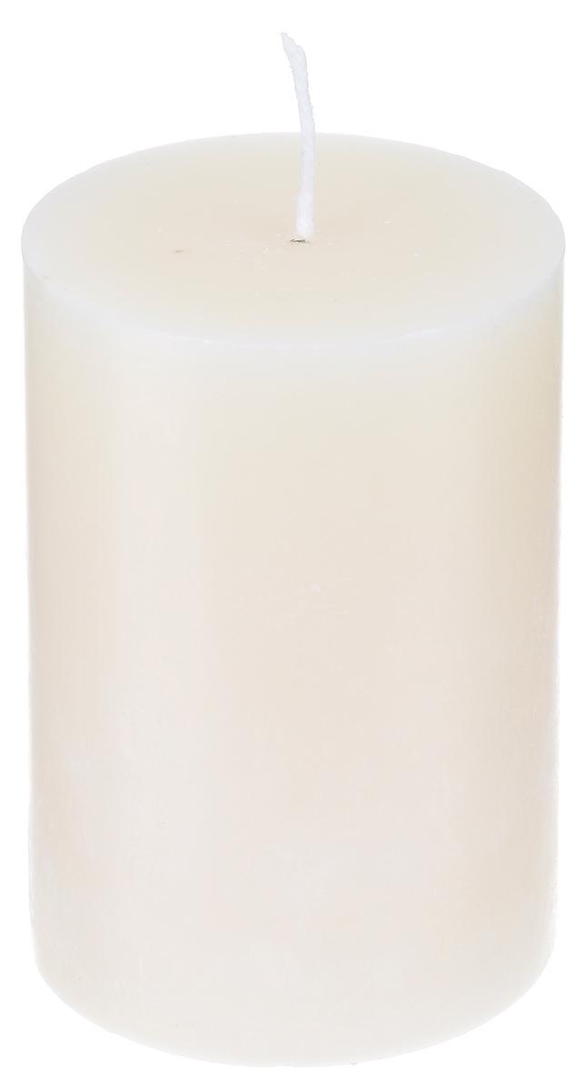 Свеча декоративная Proffi, цвет: бежевый, высота 8 смPH5890Декоративная свеча Proffi выполнена из парафина и стеарина в классическом стиле. Изделие порадует вас ярким дизайном. Такую свечу можно поставить в любое место, и она станет ярким украшением интерьера. Свеча Proffi создаст незабываемую атмосферу, будь то торжество, романтический вечер или будничный день.