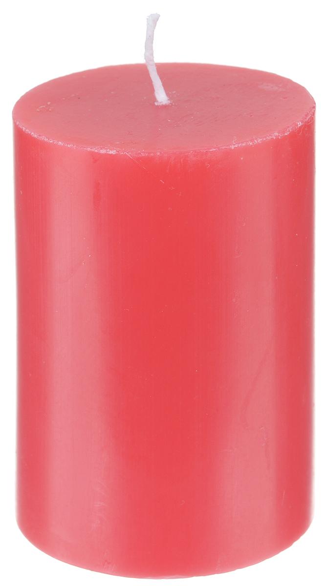Свеча декоративная Proffi, цвет: красный, высота 8 смPH5891Декоративная свеча Proffi выполнена из парафина и стеарина в классическом стиле. Изделие порадует вас ярким дизайном. Такую свечу можно поставить в любое место, и она станет ярким украшением интерьера. Свеча Proffi создаст незабываемую атмосферу, будь то торжество, романтический вечер или будничный день.