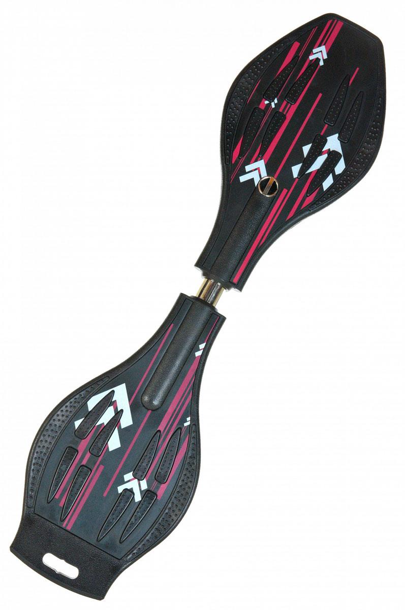 Двухколесный скейт Dragon Board Line, черныйво679Вес райдера до 80 кг, Длинна 87см, Колеса 80мм, Подшипники ABEC-5