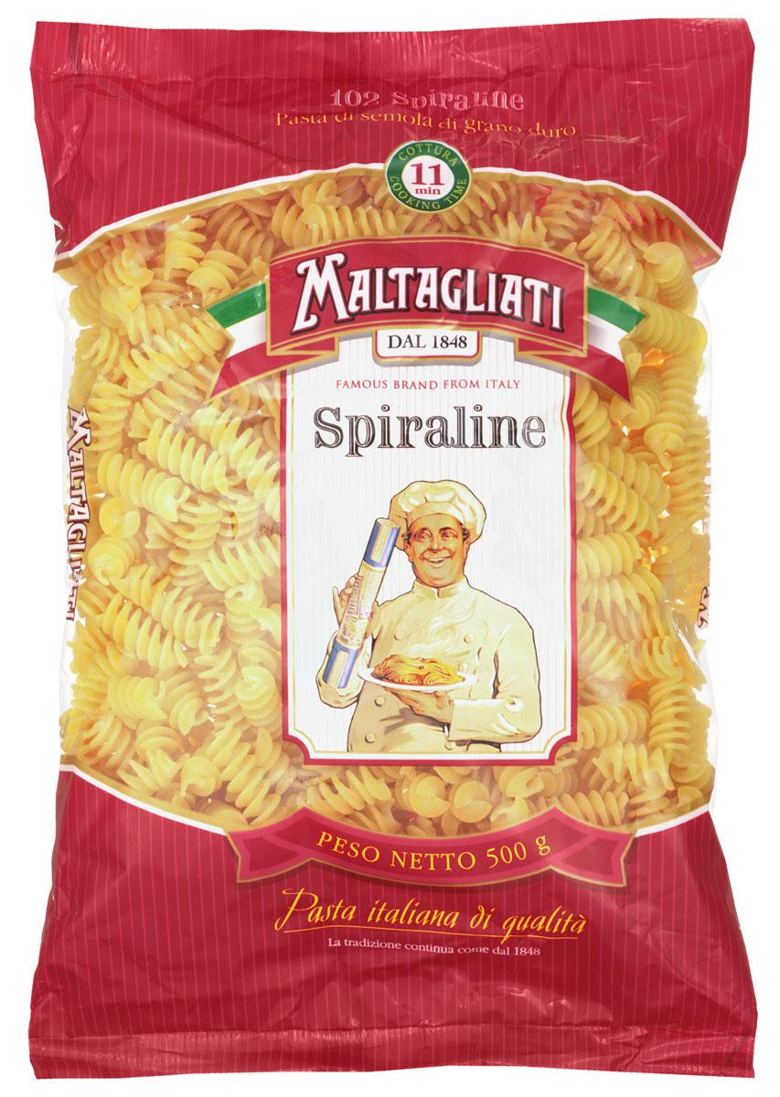 Maltagliati Spiraline Спираль лигурийская макароны, 500 г