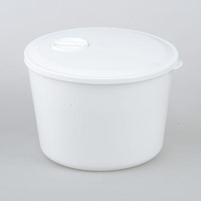 Контейнер для обеда, 1,5 л. M1260M1260Контейнер из пищевого пластика белого цвета. Бытового назначения. Размер: 165 х 165 х 113 мм.