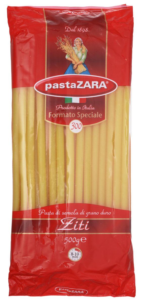 Pasta Zara Зити макароны, 500 г8004350000491Pasta Zara Ziti — одна из самых популярных марок итальянских макаронных изделий в России. Эти длинные макароны-трубочки подойдут для приготовления десятка различных блюд, которые так любит ваша семья! Макароны из твердых сортов пшеницы не развариваются, что позволит сохранить их форму в приготавливаемом блюде. Они придутся по вкусу даже самому изысканному гурману!