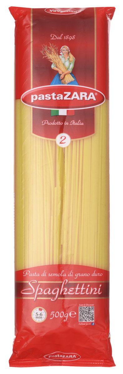 Pasta Zara Спагетти спагеттини макароны, 500 г