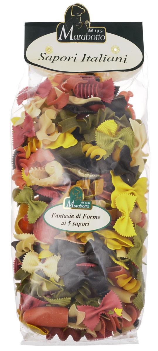 Marabotto Фантазия с приправами макароны, 500 г